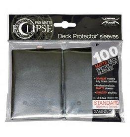 Ultra Pro Deck Protectors Pro Matte  Eclipse Jet Black (100 count)