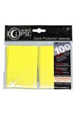 Ultra Pro Deck Protectors Pro Matte  Eclipse Lemon Yellow (100 count)