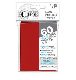 Ultra Pro Deck Protectors Pro Matte Small  Eclipse Apple Red (60 count)