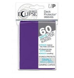 Ultra Pro Deck Protectors Pro Matte Small  Eclipse Royal Purple (60 count)