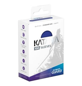 Ultimate Guard Katana Sleeves: 100ct Blue