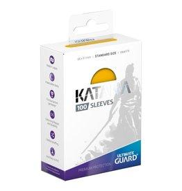 Ultimate Guard Katana Sleeves: 100ct Yellow