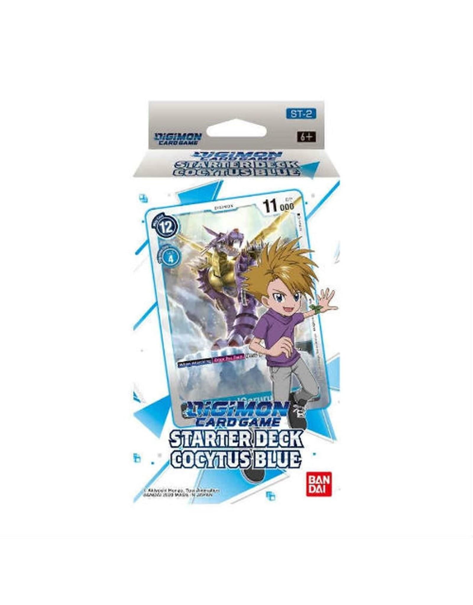 Bandai Digimon TCG: Starter Deck - Cocytus Blue