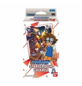 Bandai Digimon TCG: Starter Deck - Gaia Red