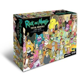 Cryptozoic Entertainment Rick and Morty: Total Rickall Cooperative Card Game