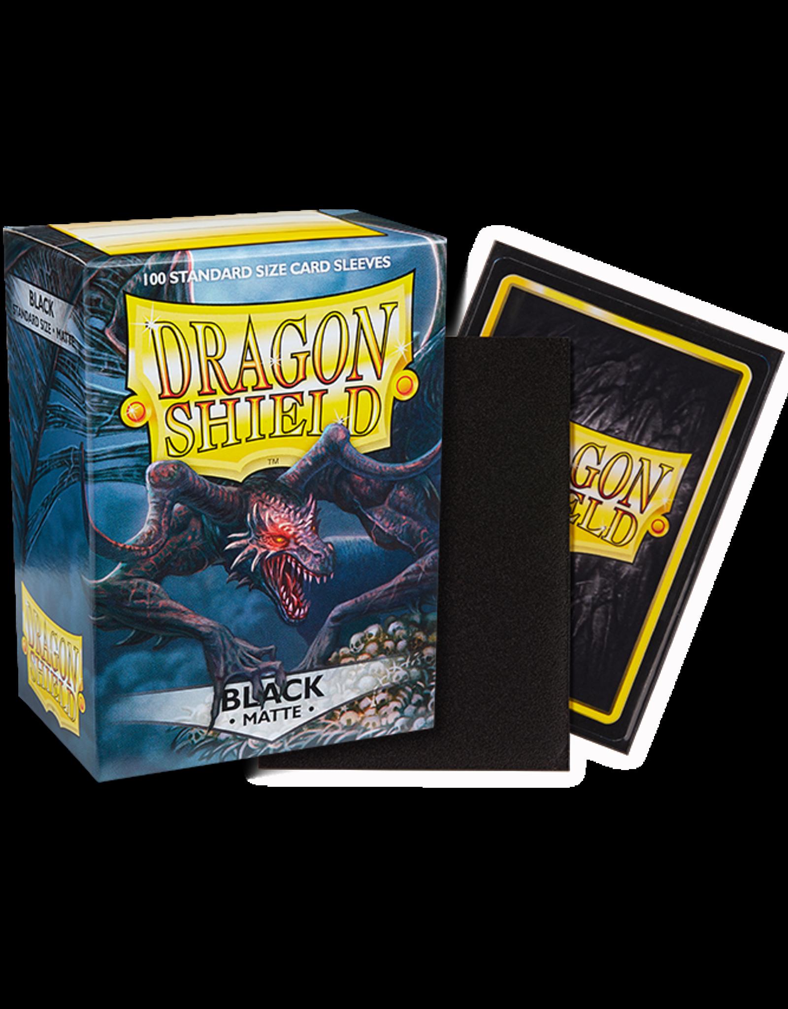 Dragon Shield Dragon Shields: (100) Matte Black