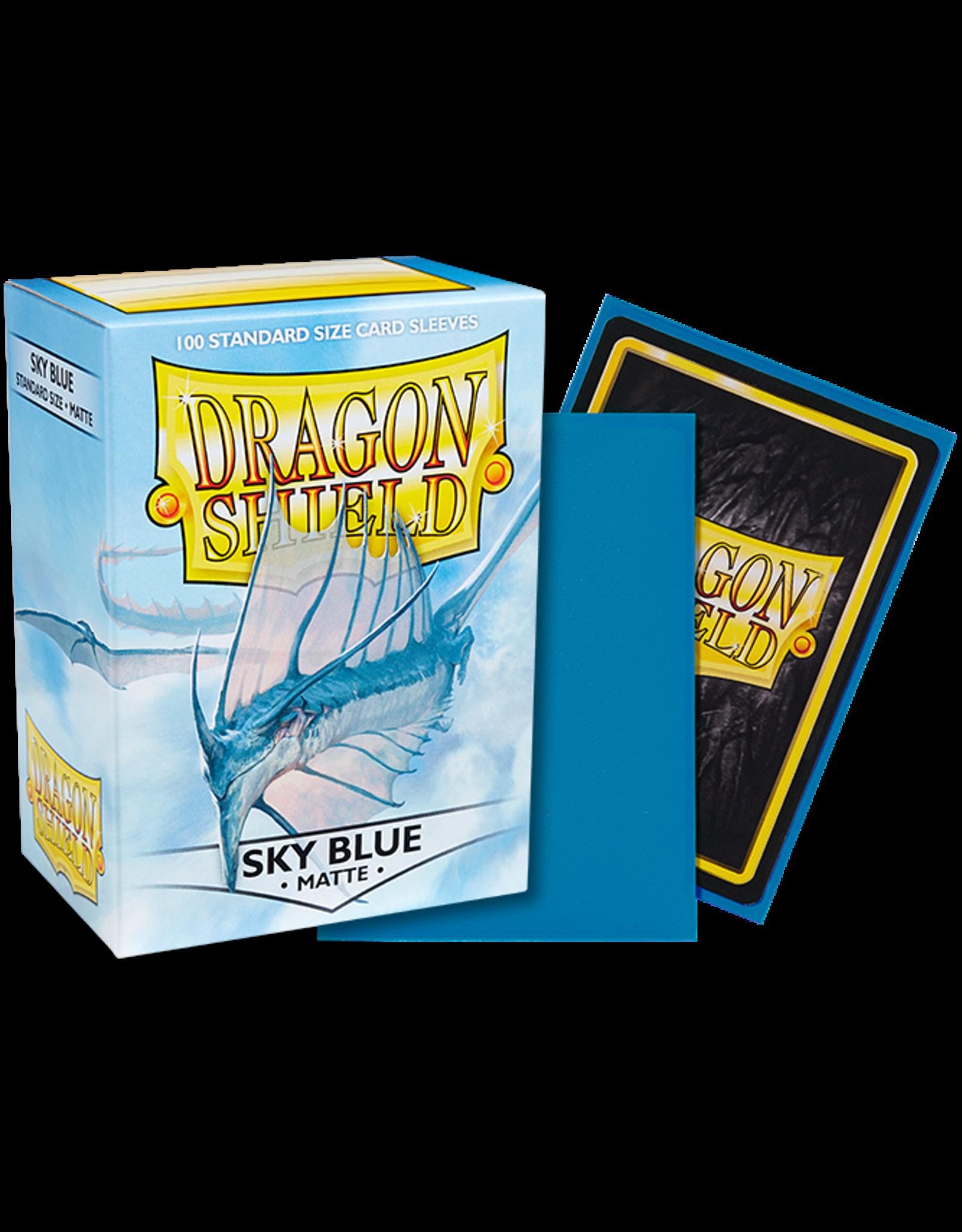 Dragon Shield Dragon Shields: (100) Matte Sky Blue