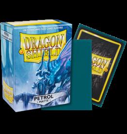 Dragon Shield Dragon Shields: (100) Matte Petrol