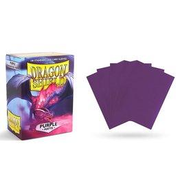 Dragon Shield Dragon Shields: (100) Matte Purple