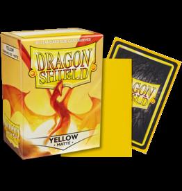 Dragon Shield Dragon Shields: (100) Matte Yellow