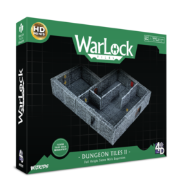 WizKids Warlock Tiles Dungeon Tiles II Full Height Stone Walls Expansion