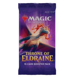 Wizards of the Coast MTG Throne of Eldraine Draft Booster Pack
