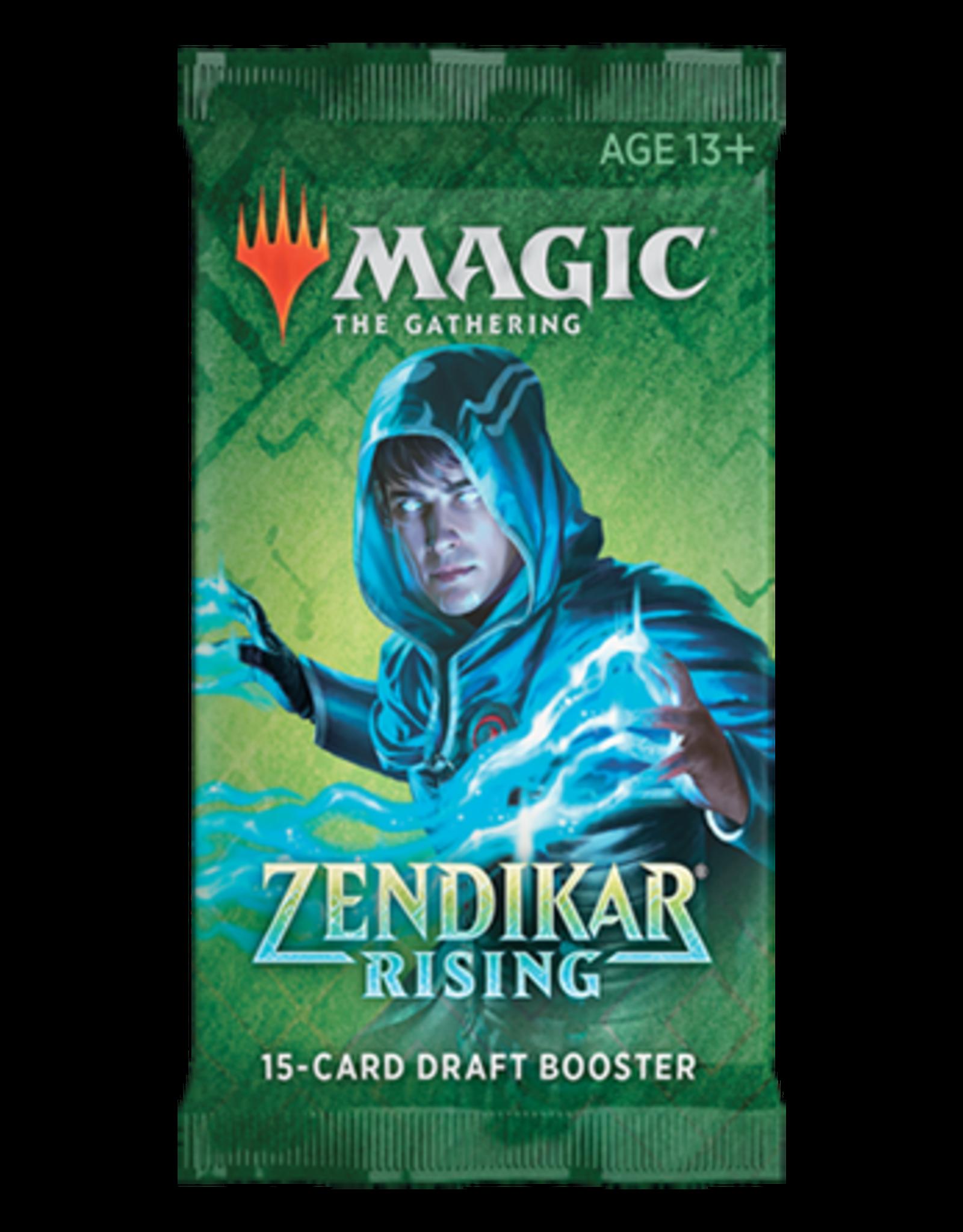 Wizards of the Coast MTG Zendikar Rising Draft Booster Pack