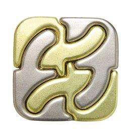 Hanayama Hanayama Cast Puzzle Square - Level 6