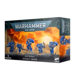 Games Workshop Space Marine Assault Squad