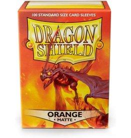 Arcane Tinmen Dragon Shields: (100) Matte Orange