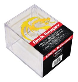 BCW 2 PIECE DECK KEEPER BOX