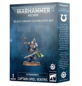 Games Workshop Space Marines Captain Uriel Ventris Black Library Exclusive
