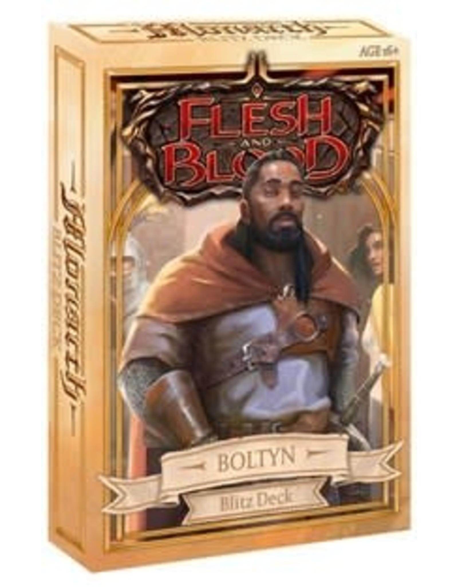 Legend Story Studios Flesh and Blood Monarch Blitz Deck