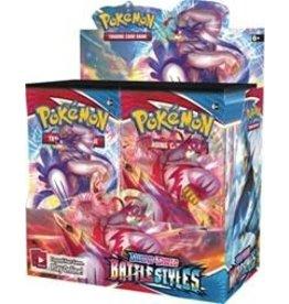 Pokémon Company Intl. Sword & Shield: Battle Styles Booster Display