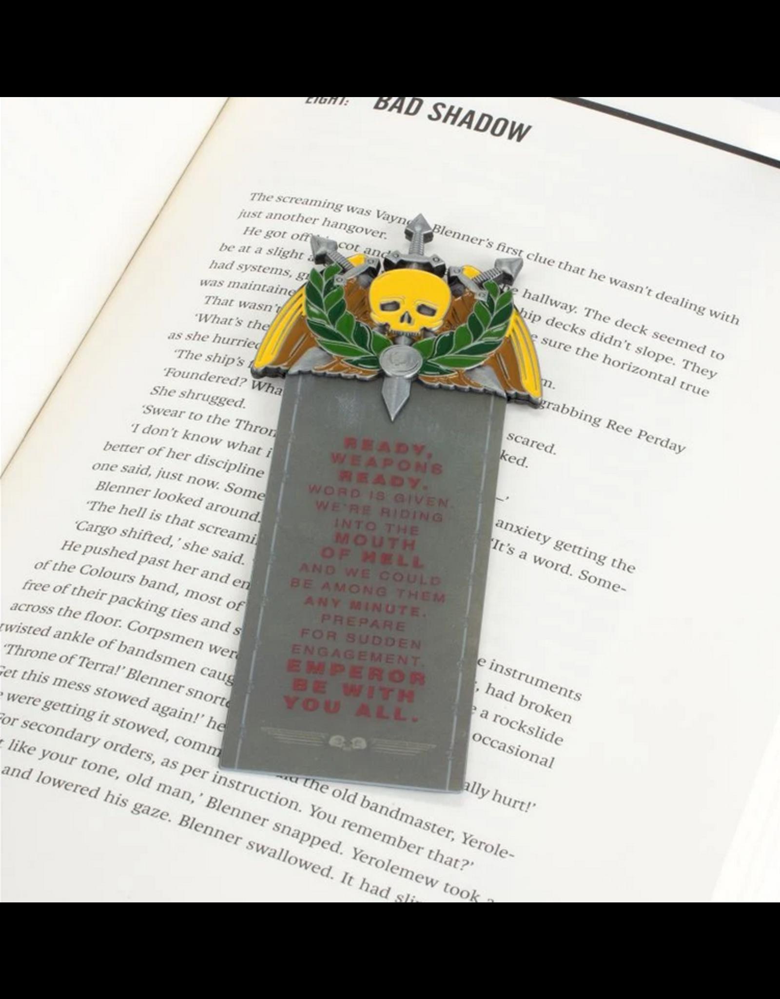 Games Workshop Black Library Ibram Gaunt Bookmark