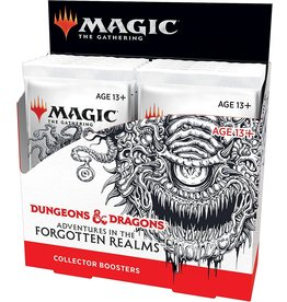 Wizards of the Coast MTG Adventures in the Forgotten Realms Collector Booster Display