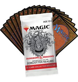 Wizards of the Coast MTG Adventures in the Forgotten Realms Collector Booster Pack