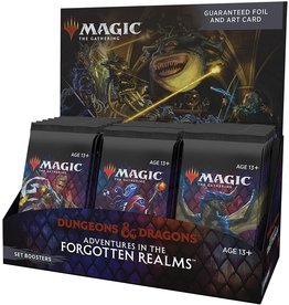 Wizards of the Coast MTG Adventures in the Forgotten Realms Set Booster Display
