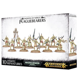 Games Workshop Daemons of Nurgle: Plaguebearers
