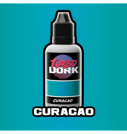 Turbo Dork Turbo Dork Flourish Acrylic - Curacao