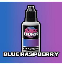 Turbo Dork Turbo Dork Flourish Acrylic - Blue Raspberry