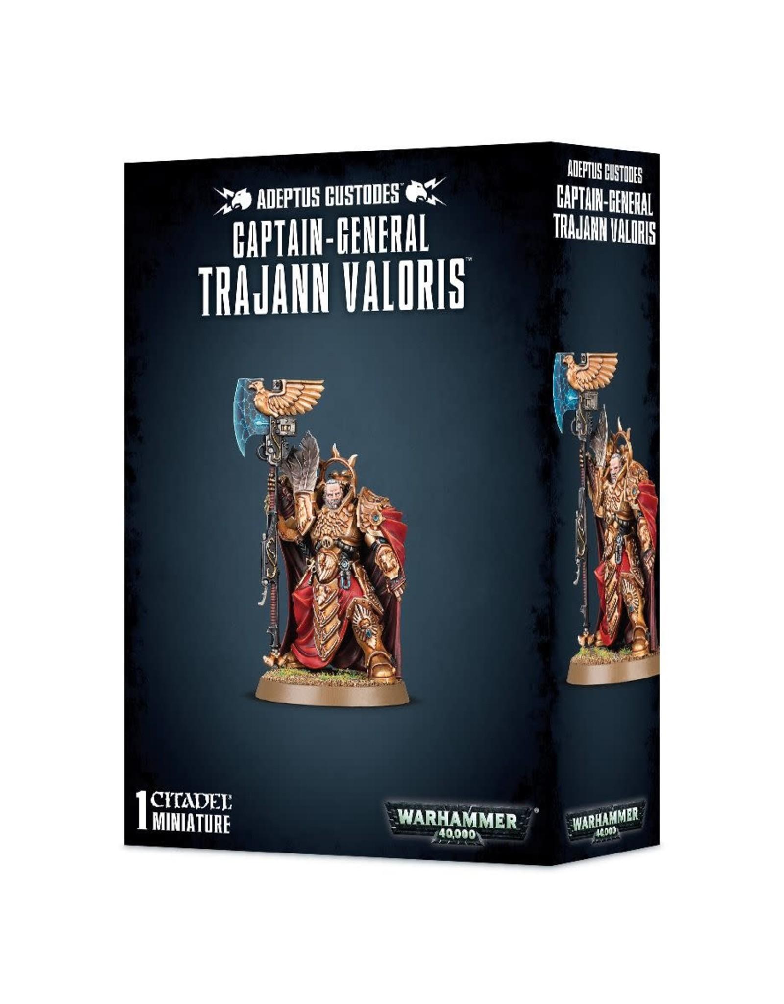 Games Workshop Adeptus Custodes Captain-General Trajann Valoris