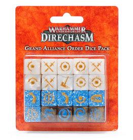 Games Workshop DIRECHASM GRAND ALLIANCE ORDER DICE PACK