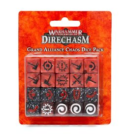Games Workshop DIRECHASM GRAND ALLIANCE CHAOS DICE PACK
