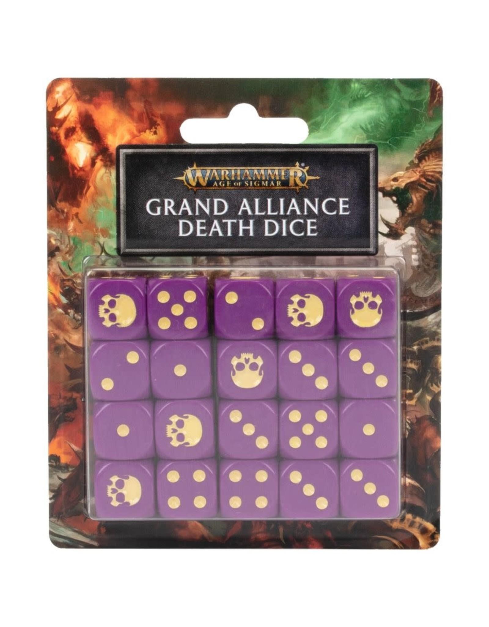 Games Workshop AOS: Grand Alliance Death Dice