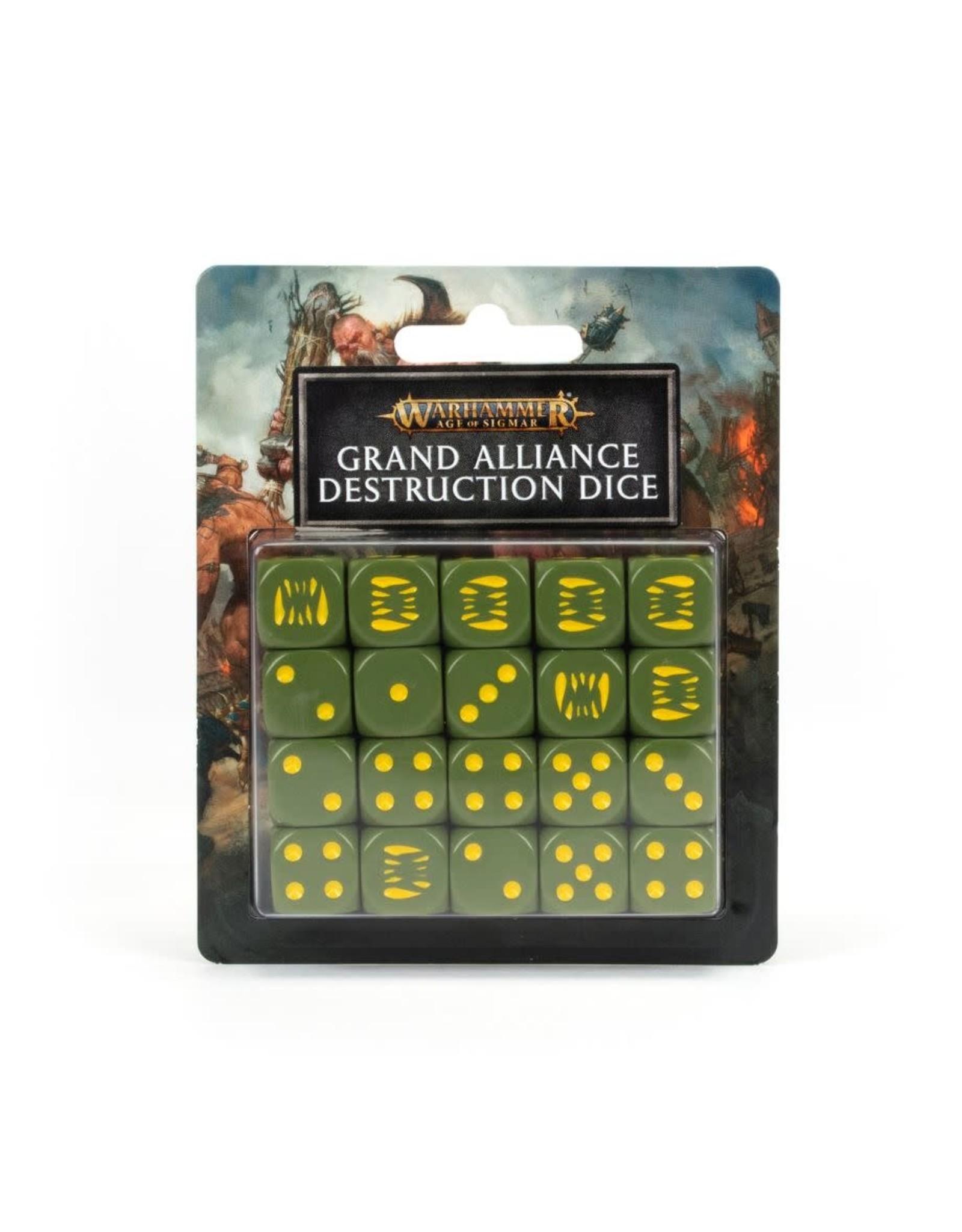 Games Workshop AOS: Grand Alliance Destruction Dice