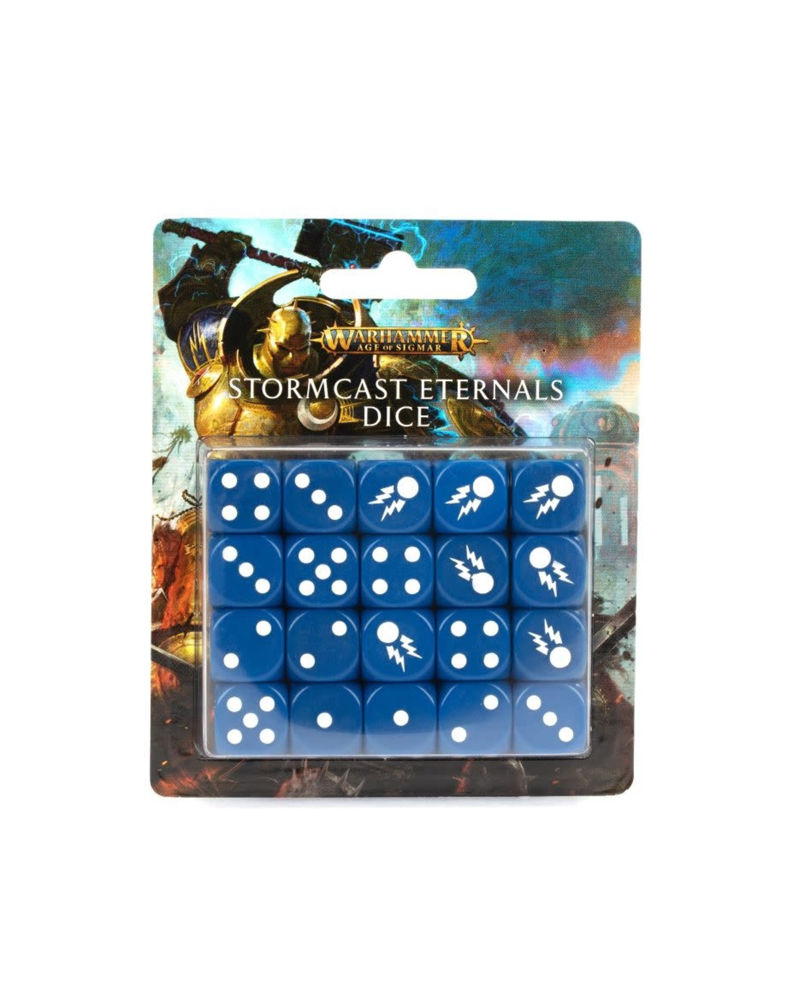 Games Workshop Age of Sigmar: Stormcast Eternal Dice