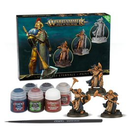 Games Workshop Age of Sigmar: Stormcast Eternals + Paint Set