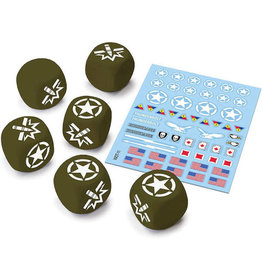 GaleForce Nine World of Tanks USA Dice and Decals