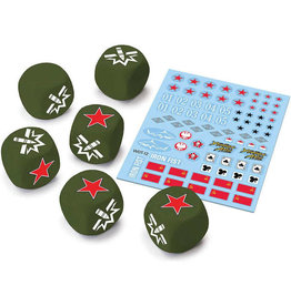 GaleForce Nine World of Tanks USSR Dice and Decals