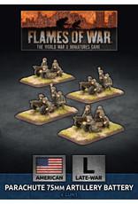 Battlefront Miniatures American Parachute 75mm Artillery Battery