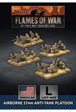 Battlefront Miniatures American Parachute 57mm Anti-Tank Platoon