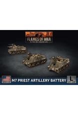 Battlefront Miniatures American M7 Priest Artillery Battery
