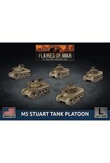 Battlefront Miniatures American M5 Stuart Light Tank Platoon