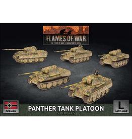Battlefront Miniatures German Panther Tank Platoon
