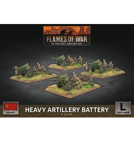 Battlefront Miniatures Soviet Heavy Artillery Battery