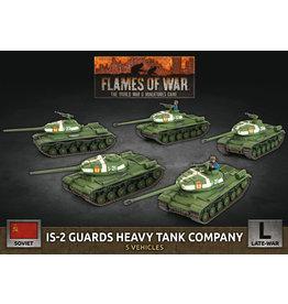 Battlefront Miniatures Soviet IS-2 Guards Heavy Tank Company