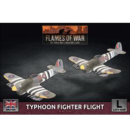 Battlefront Miniatures British Typhoon Fighter Flight