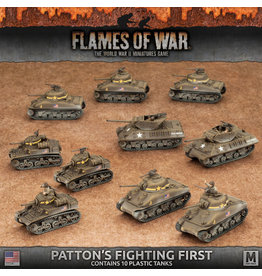 Battlefront Miniatures American Patton's Fighting First