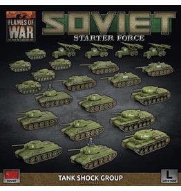 Battlefront Miniatures Flames of War Soviet Starter Force: Tank Shock Group